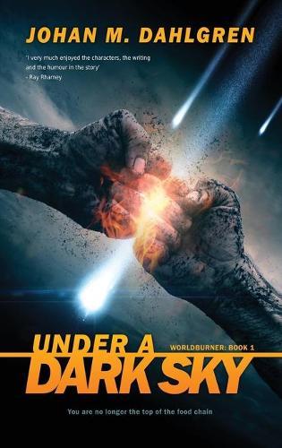 Under A Dark Sky: Large Print Hardcover Edition - Worldburner 1 (Hardback)