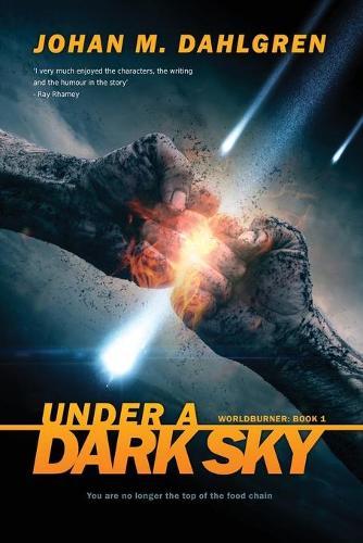 Under A Dark Sky: Large Print Edition - Worldburner 1 (Paperback)