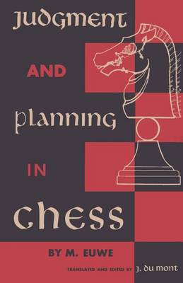 Judgment and Planning in Chess (Paperback)