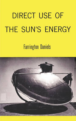 Direct Use of the Sun's Energy (Paperback)