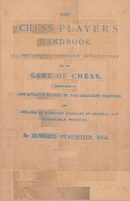 Staunton's Chess-Player's Handbook (Paperback)