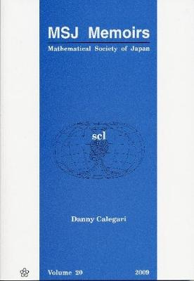 Scl - Mathematical Society Of Japan Memoirs 20 (Paperback)