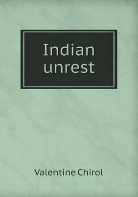 Indian Unrest (Paperback)