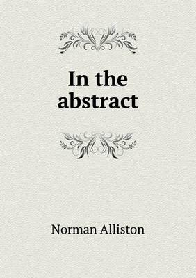 In the Abstract (Paperback)