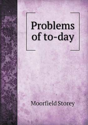 Problems of To-Day (Paperback)