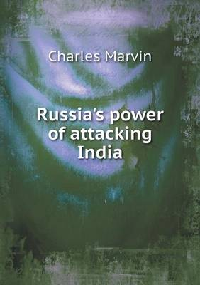 Russia's Power of Attacking India (Paperback)
