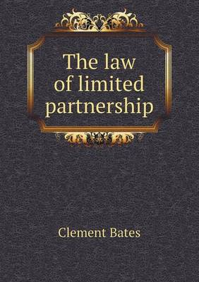 The Law of Limited Partnership (Paperback)