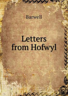 Letters from Hofwyl (Paperback)
