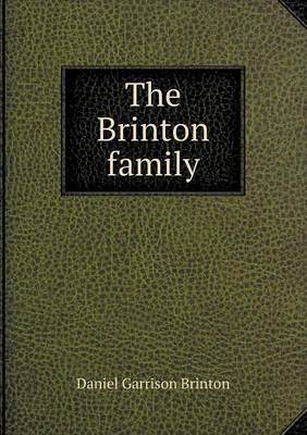 The Brinton Family (Paperback)