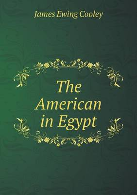 The American in Egypt (Paperback)