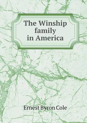 The Winship Family in America (Paperback)