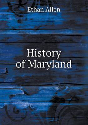 History of Maryland (Paperback)