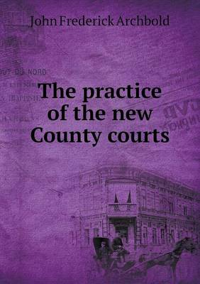 The Practice of the New County Courts (Paperback)