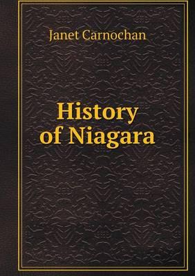 History of Niagara (Paperback)