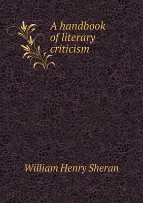A Handbook of Literary Criticism (Paperback)