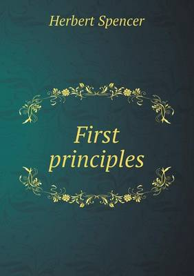 First Principles (Paperback)