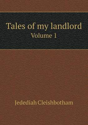 Tales of My Landlord Volume 1 (Paperback)