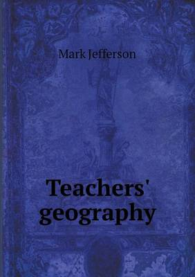 Teachers' Geography (Paperback)