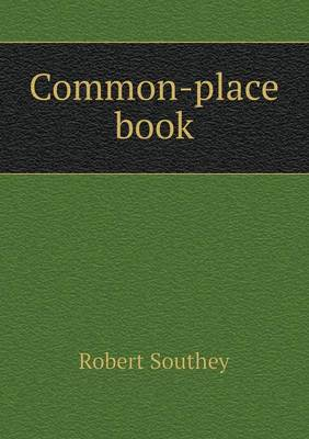Common-Place Book (Paperback)