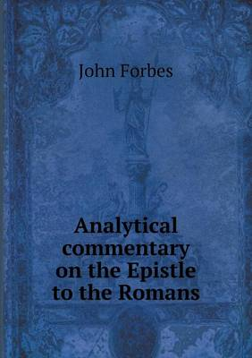 Analytical Commentary on the Epistle to the Romans (Paperback)