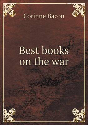 Best Books on the War (Paperback)