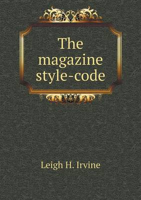 The Magazine Style-Code (Paperback)