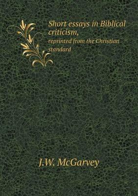 short christian essays