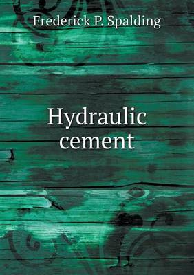 Hydraulic Cement (Paperback)