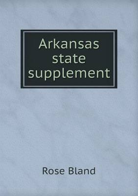 Arkansas State Supplement (Paperback)