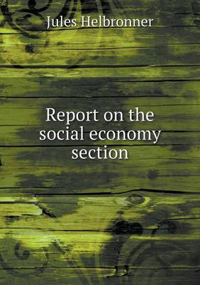 Report on the Social Economy Section (Paperback)