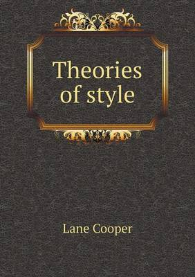 Theories of Style (Paperback)