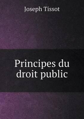Principes Du Droit Public (Paperback)