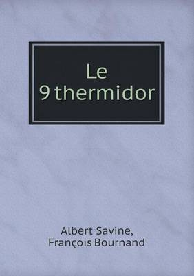 Le 9 Thermidor (Paperback)
