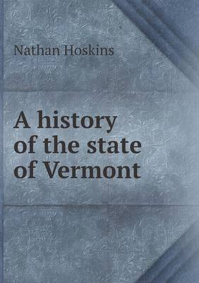 A History of the State of Vermont (Paperback)