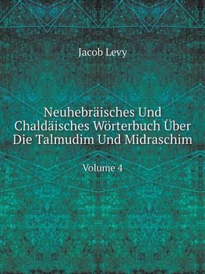 Neuhebraisches Und Chaldaisches Worterbuch Uber Die Talmudim Und Midraschim Volume 4 (Paperback)