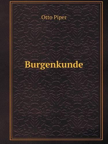 Burgenkunde (Paperback)