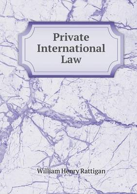 Private International Law (Paperback)