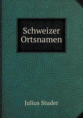 Schweizer Ortsnamen (Paperback)