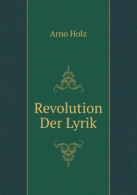 Revolution Der Lyrik (Paperback)