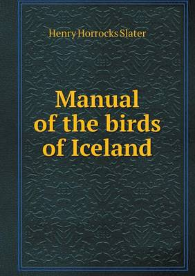 Manual of the Birds of Iceland (Paperback)