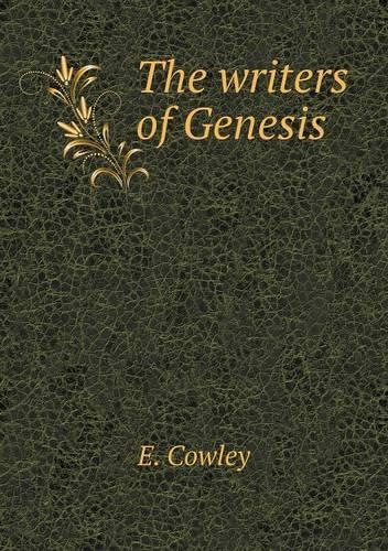 The Writers of Genesis (Paperback)