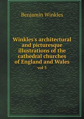 Winkles's Architectural and Picturesque Illustrations of the Cathedral Churches of England and Wales Vol 3 (Paperback)
