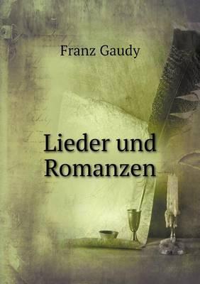 Lieder Und Romanzen (Paperback)