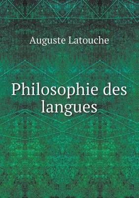 Philosophie Des Langues (Paperback)