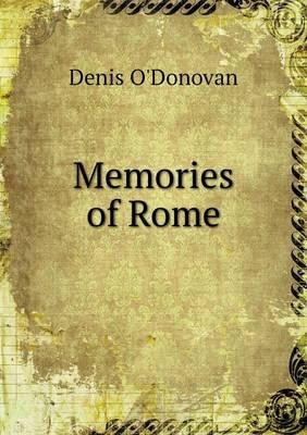 Memories of Rome (Paperback)