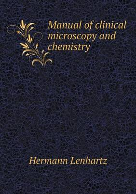 Manual of Clinical Microscopy and Chemistry (Paperback)