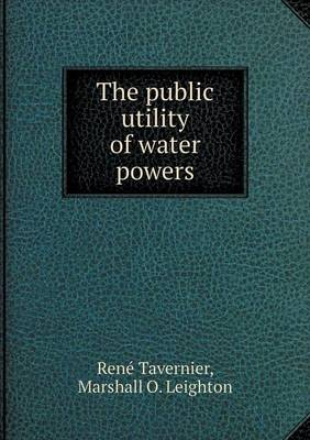 The Public Utility of Water Powers (Paperback)