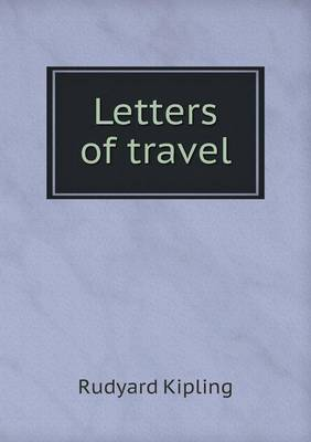 Letters of Travel (Paperback)