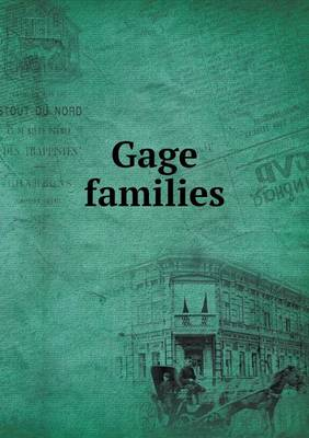 Gage Families (Paperback)