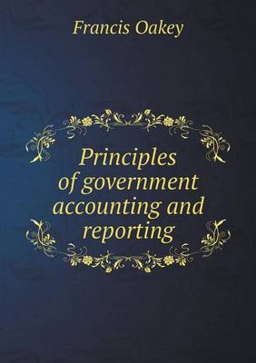 Principles of Government Accounting and Reporting (Paperback)